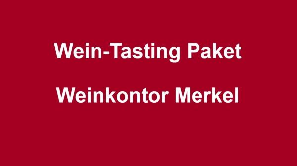 Wein-Tasting Paket Weinkontor Merkel