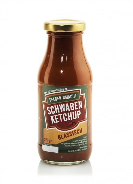 Schwaben-Ketchup Glassisch